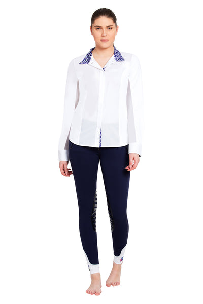 Equine Couture Ladies Kelsey Long Sleeve Show Shirt_759