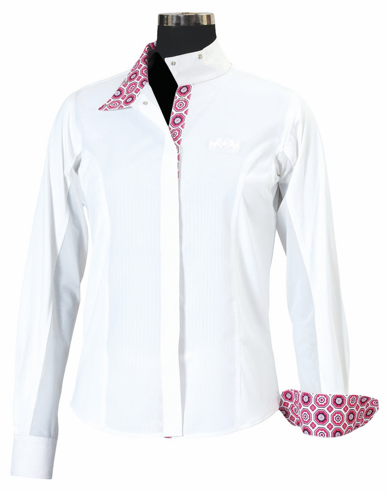 Equine Couture Children's Kelsey Long Sleeve Show Shirt_1