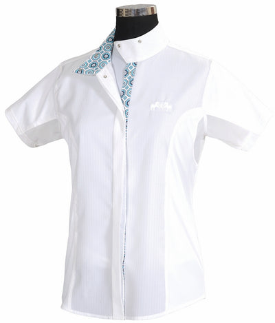 Equine Couture Children's Kelsey Short Sleeve Show Shirt_3965