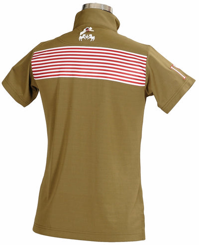 Equine Couture Ladies Patriot Short Sleeve Polo_5040