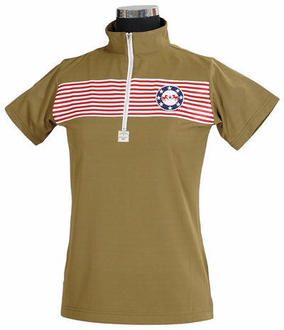 Equine Couture Ladies Patriot Short Sleeve Polo_5039