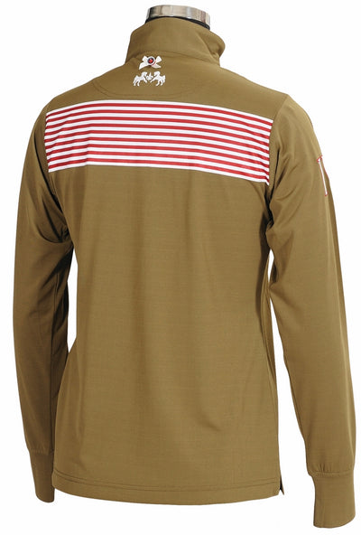 Equine Couture Ladies Patriot Long Sleeve Polo_5052