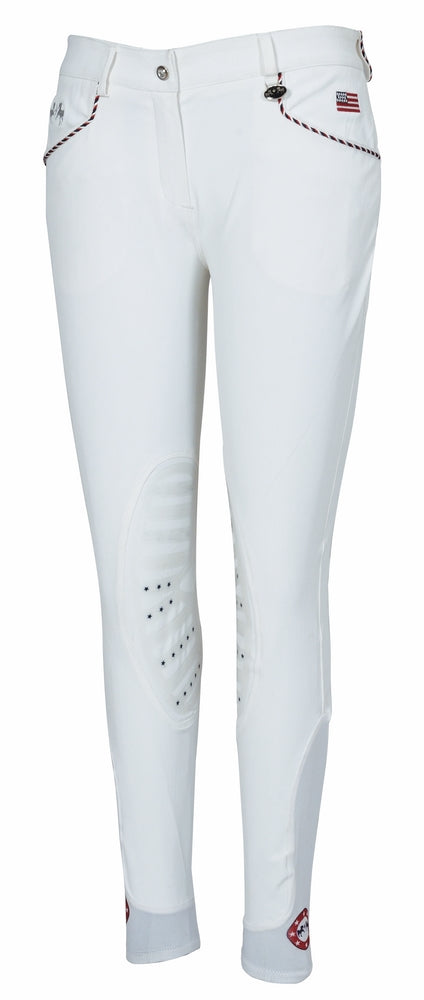 Equine Couture Ladies Centennial Knee Patch Breeches_1