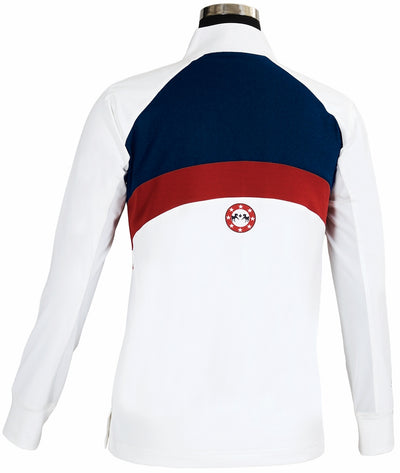 Equine Couture Ladies Bostonian Long Sleeve Show Shirt_3971