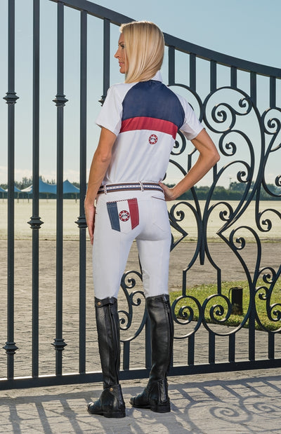 Equine Couture Ladies Bostonian Short Sleeve Show Shirt_784