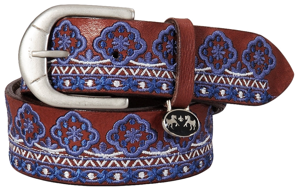 Equine Couture Angela Leather Belt_3330