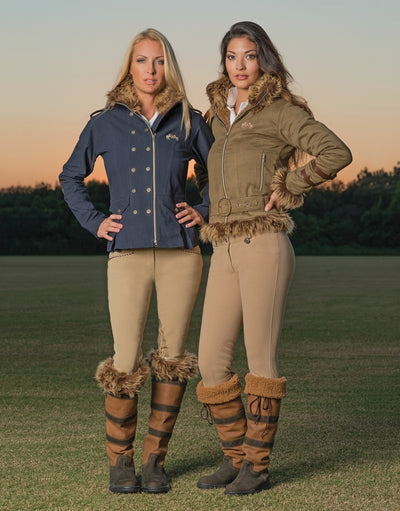 Equine Couture Ladies Aviator Jacket_206
