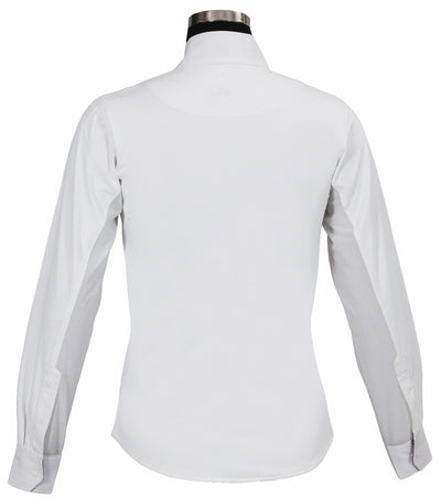 Equine Couture Ladies Amber Long Sleeve Show Shirt_794
