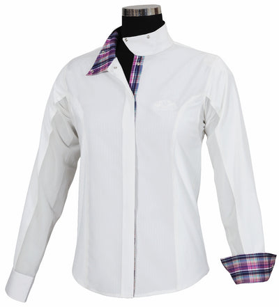 Equine Couture Ladies Amber Long Sleeve Show Shirt_793