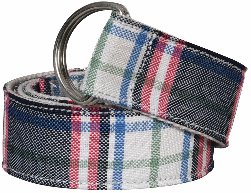 Equine Couture Amber Plaid Belt_3335