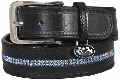 Equine Couture Double Row Bling Belt_3352