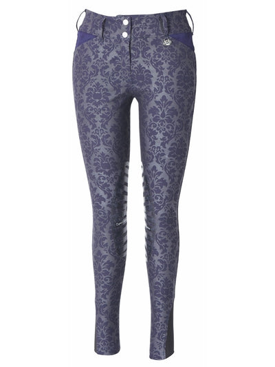 Equine Couture Ladies Damask Breeches_4890