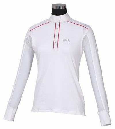 Equine Couture Ladies Rio Long Sleeve Show Shirt_807