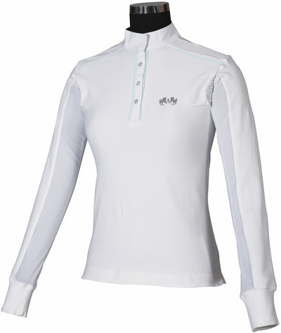 Equine Couture Ladies Rio Long Sleeve Show Shirt_809