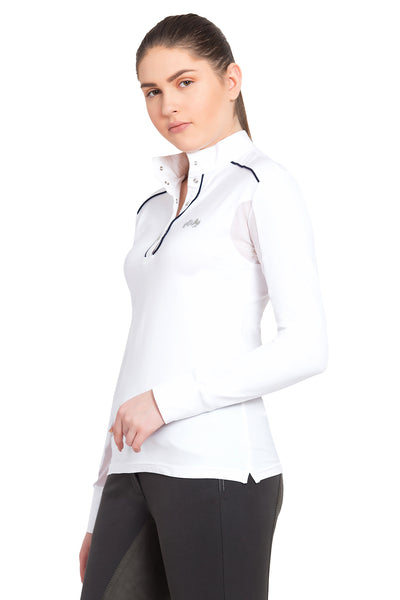 Equine Couture Ladies Rio Long Sleeve Show Shirt_812