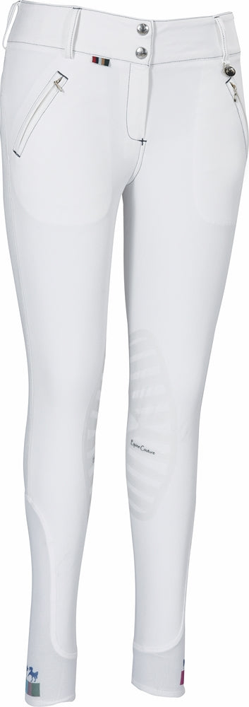 Equine Couture Ladies Beatta Silicone Knee Patch Breeches_16