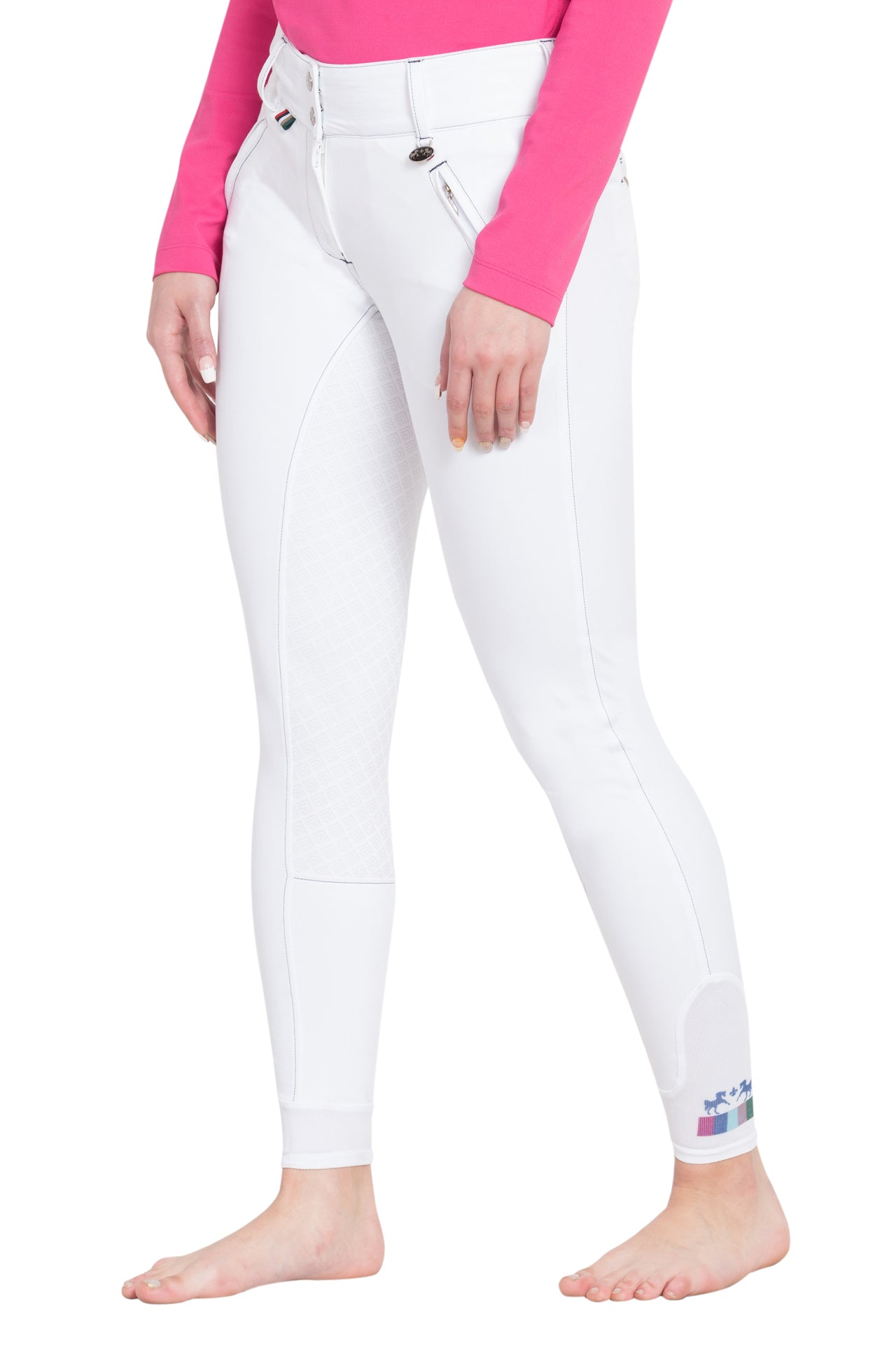 Equine Couture Ladies Brinley Silicone Knee Patch Breeches