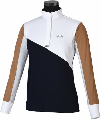 Equine Couture Ladies Sawyer Show Shirt_871