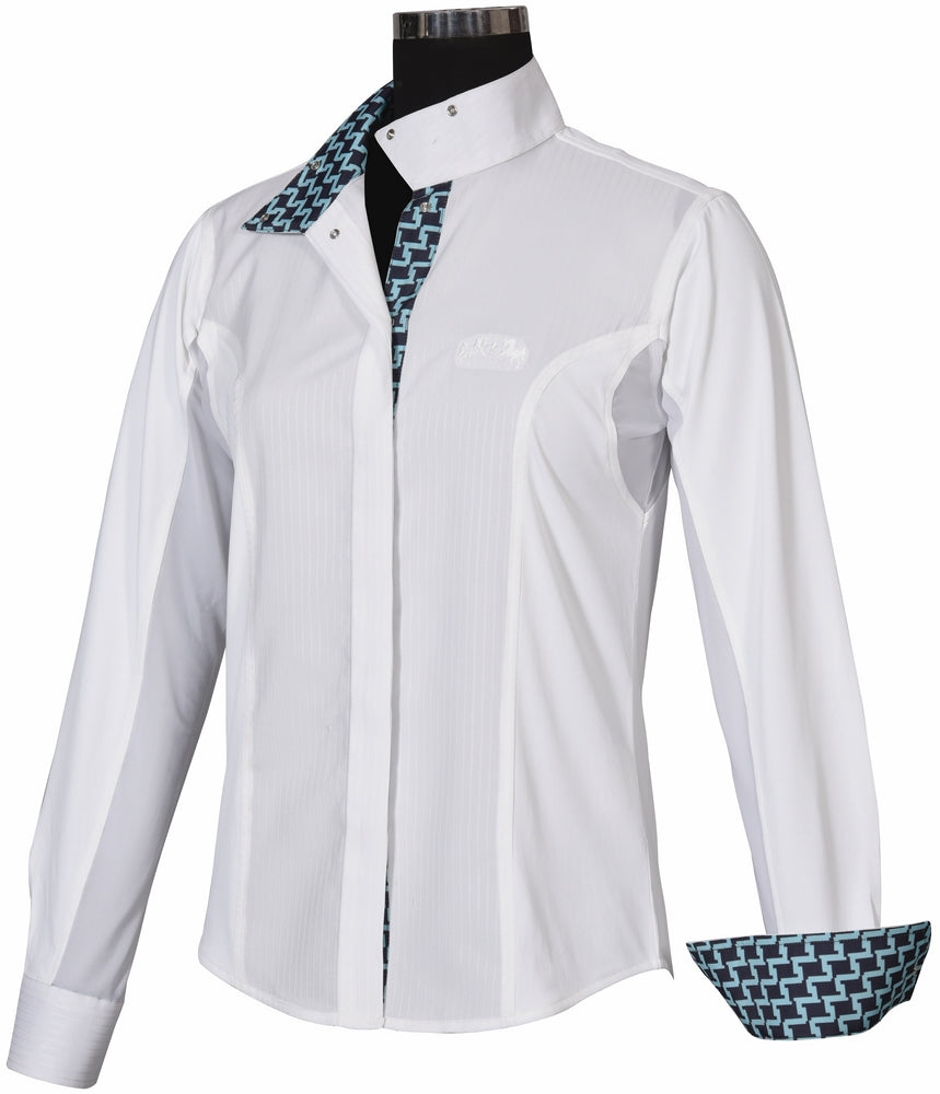Equine Couture Ladies Geo Show Shirt_884