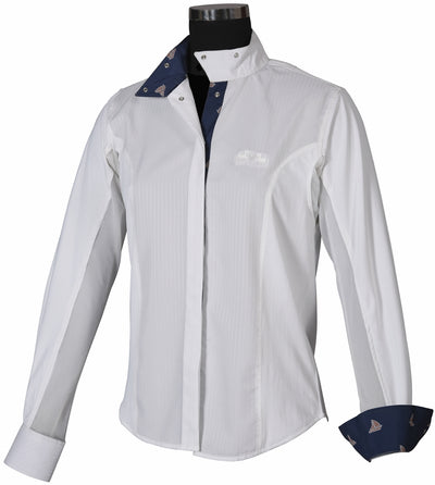 Equine Couture Ladies Boat Show Shirt_4102