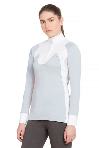 Equine Couture Ladies Chelsea Long Sleeve Show Shirt_4116