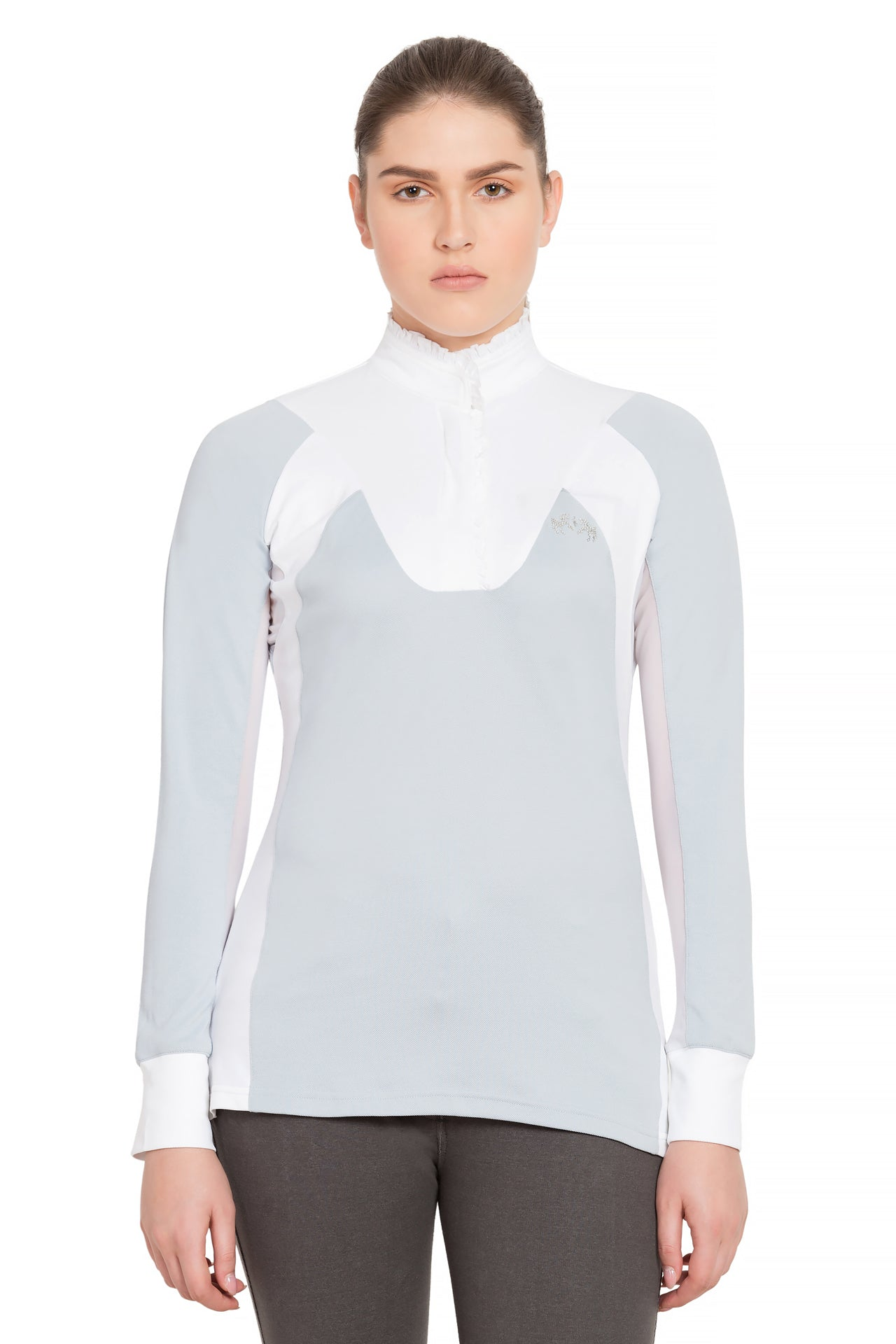 Equine Couture Ladies Chelsea Long Sleeve Show Shirt_909
