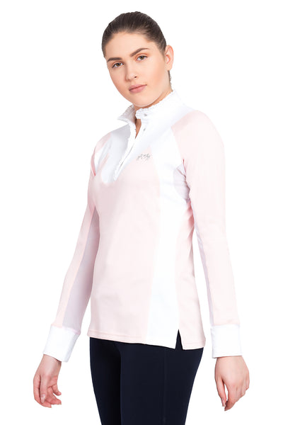 Equine Couture Ladies Chelsea Long Sleeve Show Shirt_4120