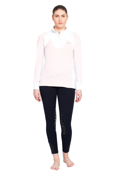 Equine Couture Ladies Chelsea Long Sleeve Show Shirt_4123