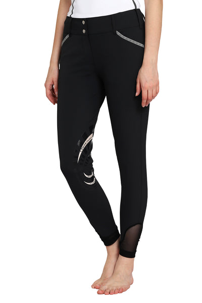 EQUINE COUTURE LADIES MALTA KNEE PATCH BREECHES_5543
