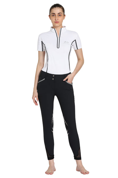 EQUINE COUTURE LADIES MALTA KNEE PATCH BREECHES_5547