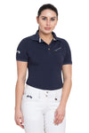 Equine Couture Ladies Performance Short Sleeve Polo Sport Shirt_4155