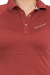 Equine Couture Ladies Performance Short Sleeve Polo Sport Shirt_4166