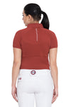 Equine Couture Ladies Performance Short Sleeve Polo Sport Shirt_4164