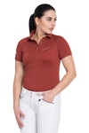 Equine Couture Ladies Performance Short Sleeve Polo Sport Shirt_4162