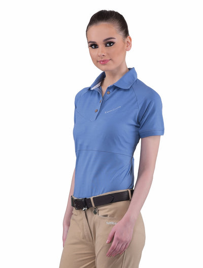 Equine Couture Ladies Performance Short Sleeve Polo Sport Shirt_4170