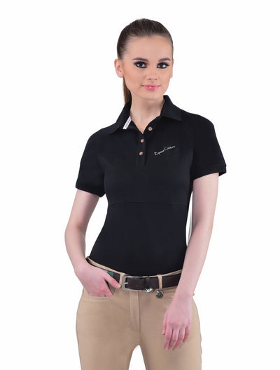 Equine Couture Ladies Performance Short Sleeve Polo Sport Shirt_4172