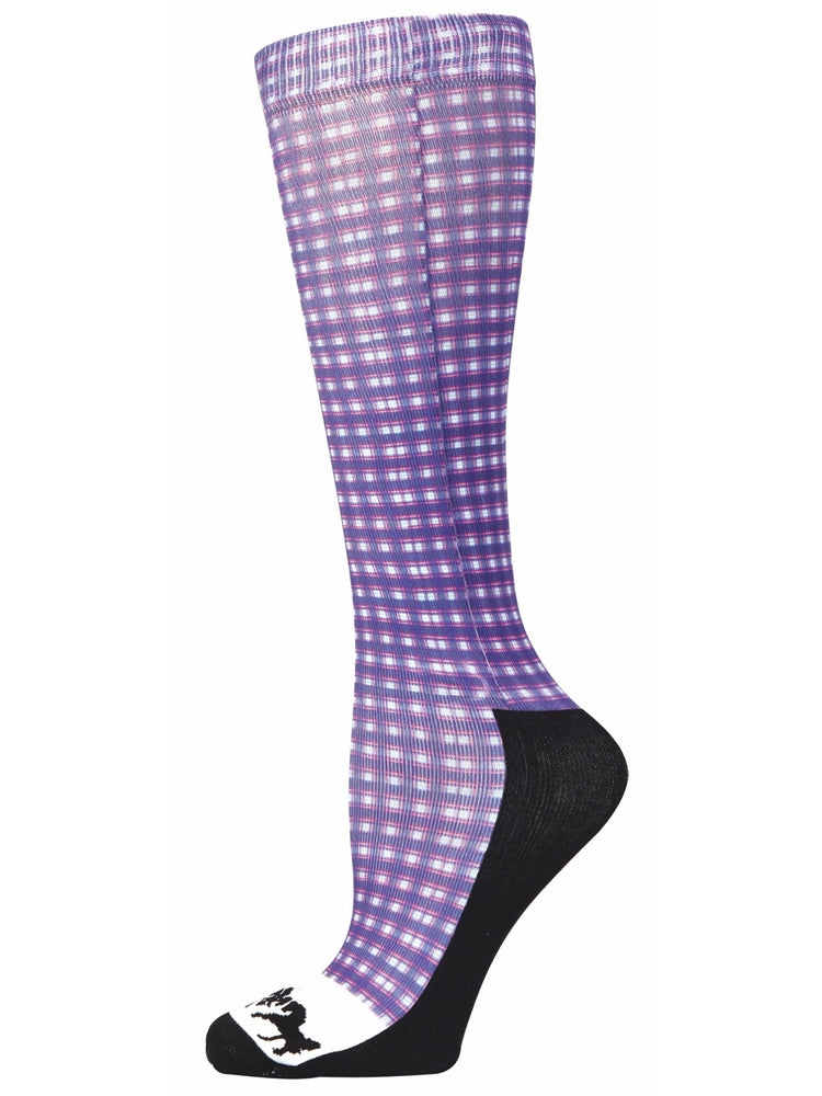Equine Couture Ladies Amber Padded Knee Hi Boot Socks_1729