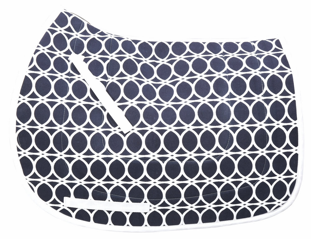 Equine Couture Cory Cool-Rider Bamboo All Purpose Saddle Pad_2432