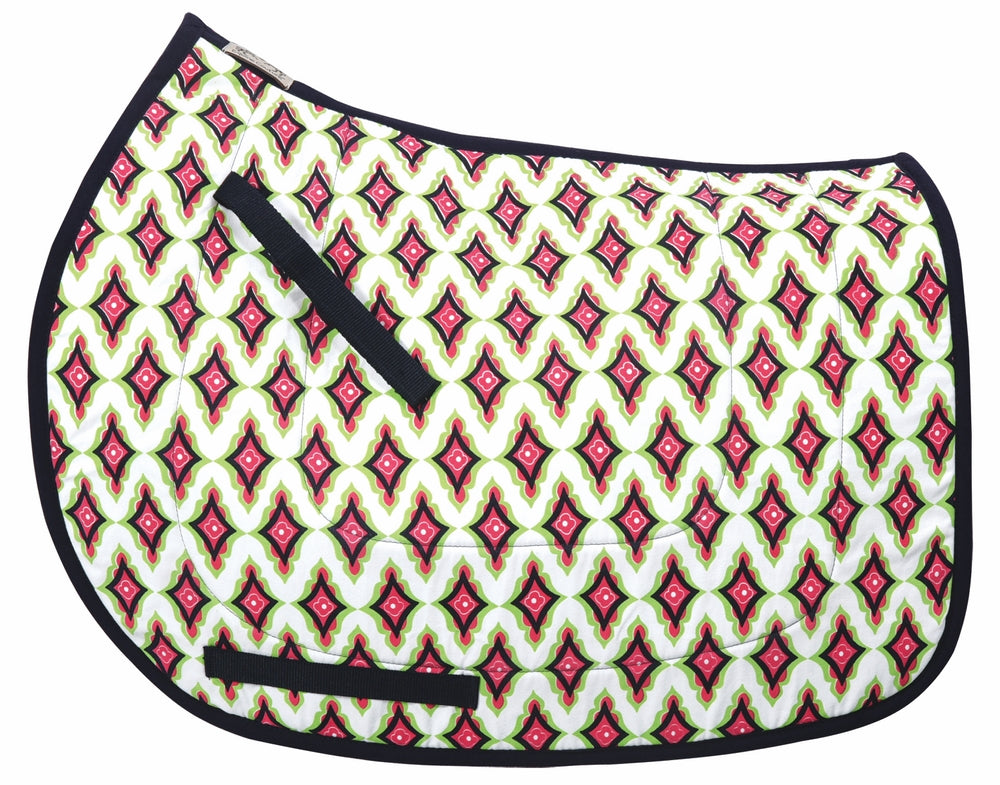 Equine Couture Caylee Cool-Rider Bamboo All Purpose Saddle Pad_1798