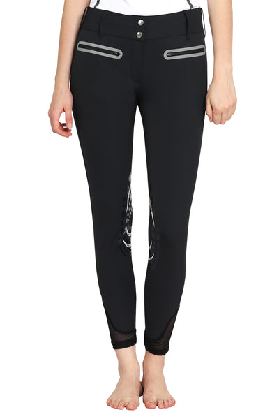 EQUINE COUTURE LADIES IBIZA KNEE PATCH BREECHES_2