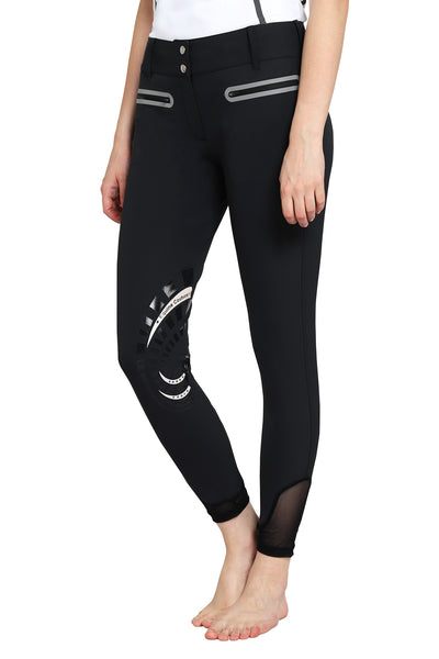EQUINE COUTURE LADIES IBIZA KNEE PATCH BREECHES_1