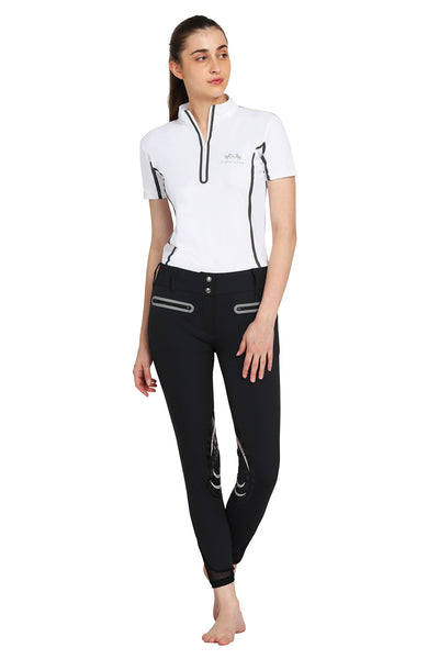 EQUINE COUTURE LADIES IBIZA KNEE PATCH BREECHES_5
