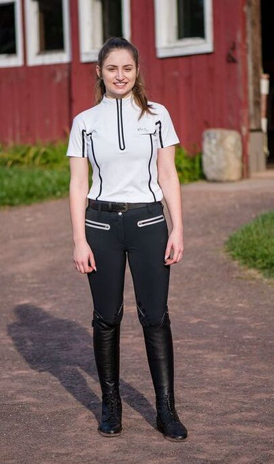 EQUINE COUTURE LADIES IBIZA KNEE PATCH BREECHES_7