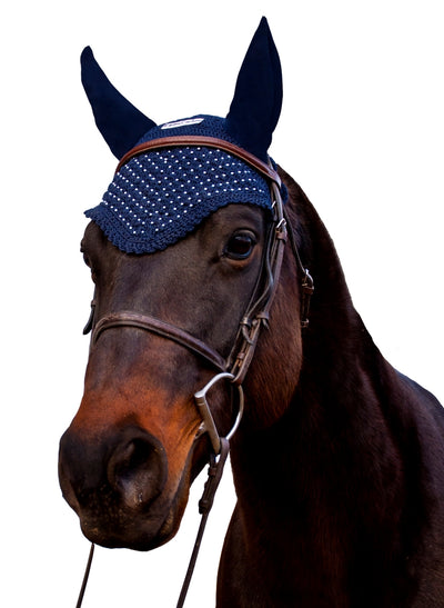 Equine Couture Fly Bonnet_3026
