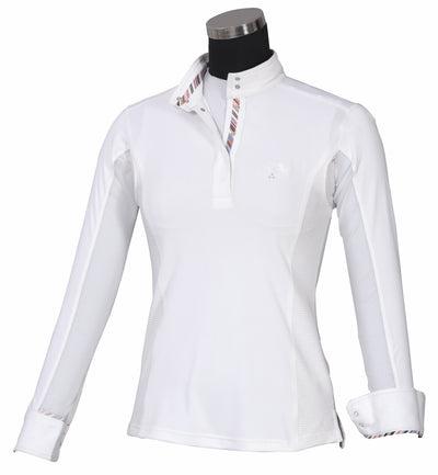 Equine Couture Ladies Cara Long Sleeve Show Shirt_4213