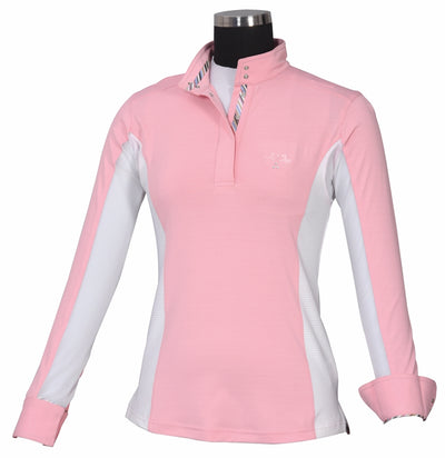 Equine Couture Ladies Cara Long Sleeve Show Shirt_3