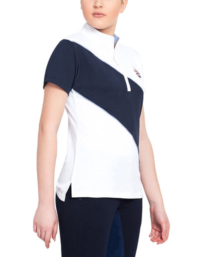 Equine Couture Ladies Danvers Short Sleeve Sport Shirt_4242