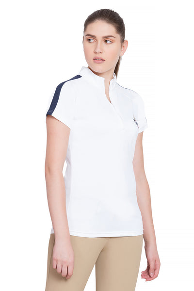 Equine Couture Ladies Jordan Short Sleeve Sport Shirt_4257