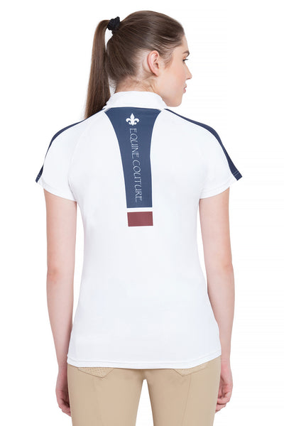 Equine Couture Ladies Jordan Short Sleeve Sport Shirt_4258