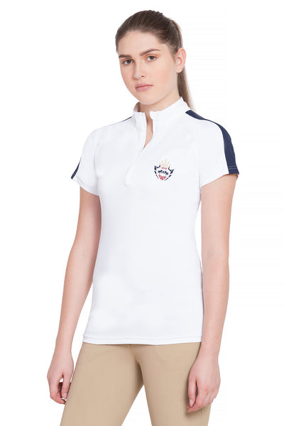 Equine Couture Ladies Jordan Short Sleeve Sport Shirt_4256